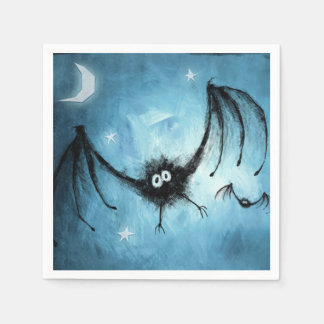 Gone Batty Halloween Party Paper Napkins