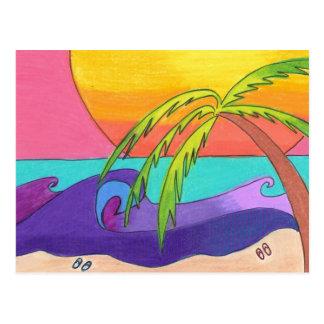 Gone Beachy Postcard