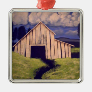 """Gone but not forgotten"" by Linda Powell~Ornament Metal Ornament"
