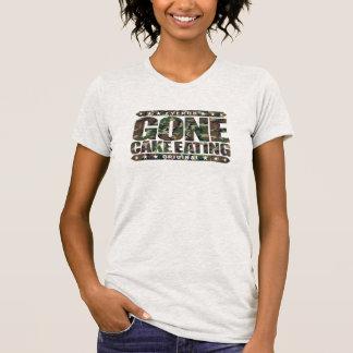GONE CAKE EATING - I'm Competitive Eating Champion T-shirts