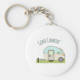 Gone Campin Keychain
