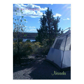 Gone Camping ~ Nevada - Postcard