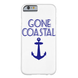 Gone Coastal Navy Blue Anchor Barely There iPhone 6 Case