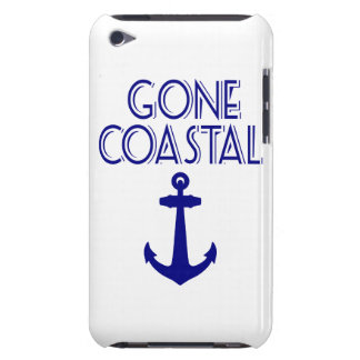 Gone Coastal Navy Blue Anchor Barely There iPod Cases