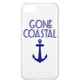 Gone Coastal Navy Blue Anchor Cover For iPhone 5C