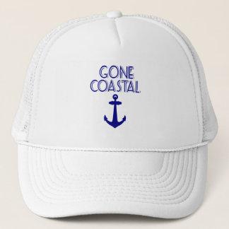 Gone Coastal Navy Blue Anchor Trucker Hat