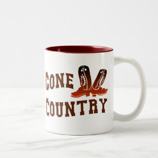 Gone Country Two-Tone Coffee Mug