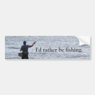 Gone Fishin' Bumper Sticker