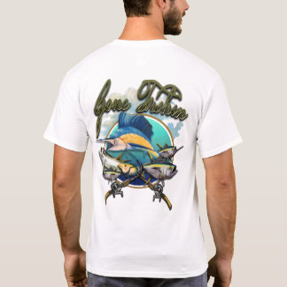 Gone Fishin Man 02 T-Shirt