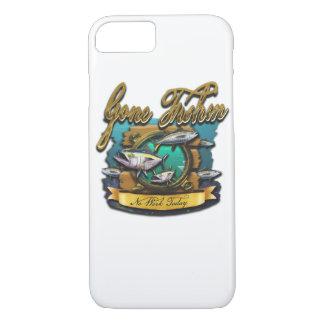 Gone Fishin Port Hole Case-Mate iPhone Case
