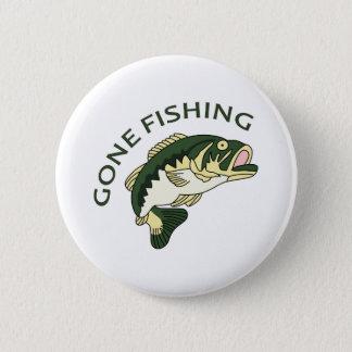 GONE FISHING 2 INCH ROUND BUTTON