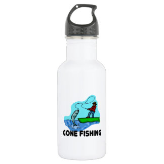 Gone Fishing 532 Ml Water Bottle