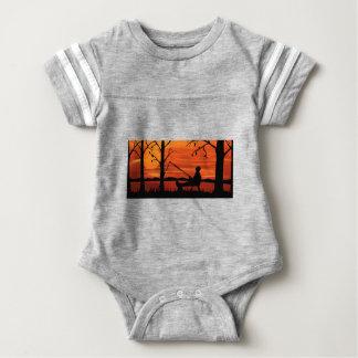 Gone Fishing Baby Bodysuit