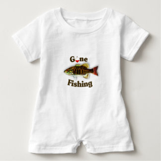 Gone Fishing Baby Romper