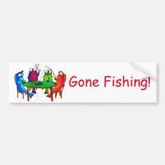 Gone Fishing! Bumper Sticker