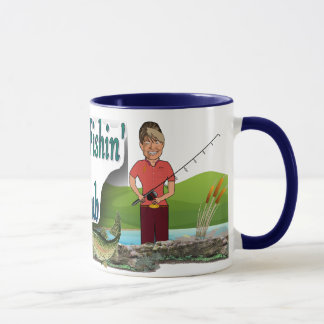 Gone Fishing Club Coffee Mug