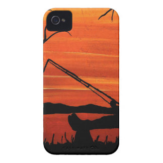 Gone Fishing iPhone 4 Case