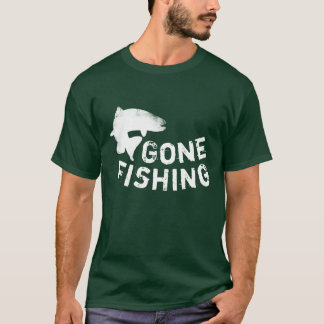 Gone Fishing Jumping Trout T-Shirt