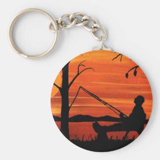 Gone Fishing Keychain