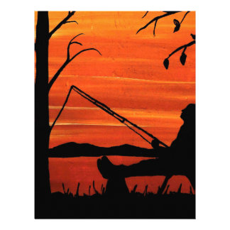 Gone Fishing Letterhead