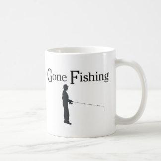Gone Fishing, Man fishing Coffee Mug