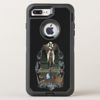 Gone Fishing OtterBox Defender iPhone 8 Plus/7 Plus Case