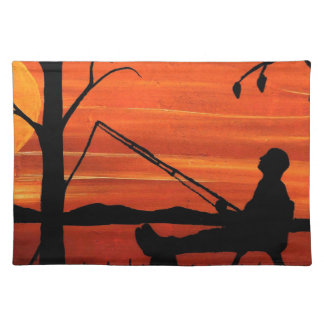 Gone Fishing Placemat