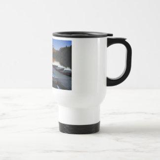 Gone Fishing Travel Mug
