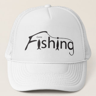 Gone Fishing Trucker Hat