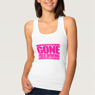 GONE FREE DIVING - Skilled Freediver & Spearfisher Tank Top