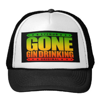 GONE GIN DRINKING - I Love Gin and Tonic with Lime Trucker Hat