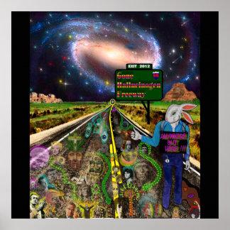 Gone Hallucinogen Freeway Poster