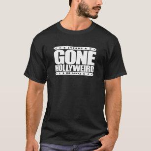 GONE HOLLYWEIRD - I'm Aspiring Actor in California T-Shirt