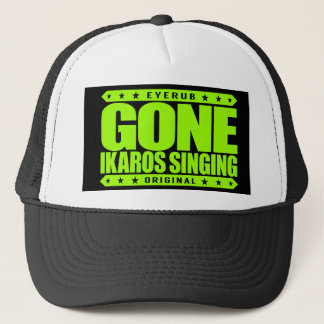 GONE IKAROS SINGING -  Ayahuasca Ceremony Shaman Trucker Hat