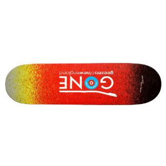 GONE logo 8.5 Custom Skateboard