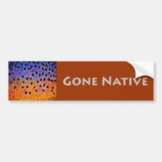 Gone Native - Bumper Sticker