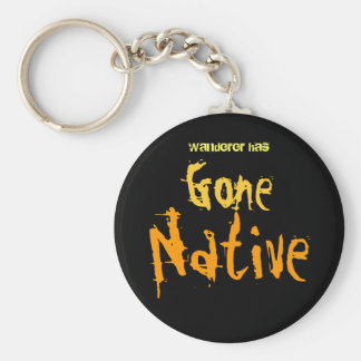 Gone Native Keychain