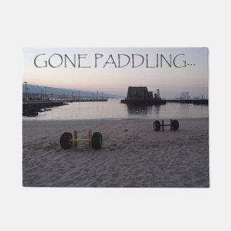 Gone Paddling Doormat