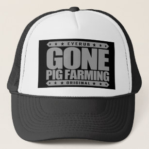 71f7353ba2b GONE PIG FARMING - I Love Raising   Breeding Swine Trucker Hat