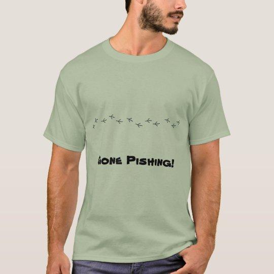 Gone Pishing! t-shirt