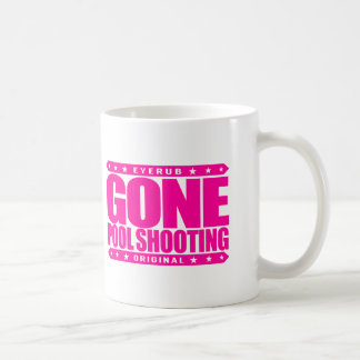 GONE POOL SHOOTING - Undefeated Billiards Player Basic White Mug