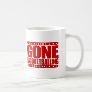 GONE RACQUETBALLING - Undefeated Racquetball Champ Basic White Mug