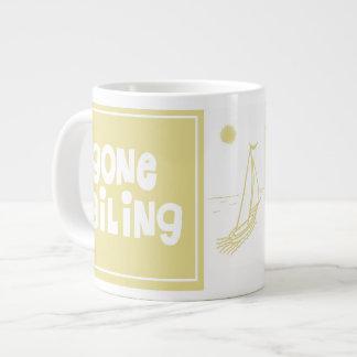 Gone Sailing Large Coffee Mug