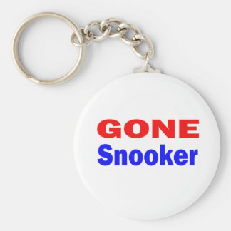 Gone Snooker. Keychain