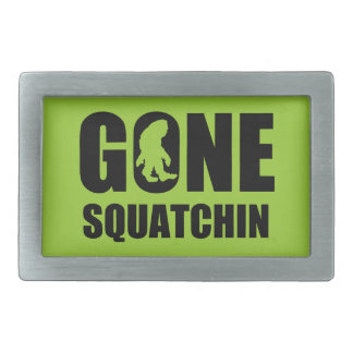 Gone Squatchin 3 Belt Buckle