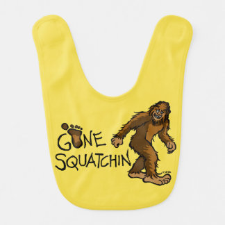 Gone Squatchin Bib