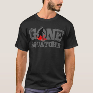 Gone Squatchin  *black  logo* T-Shirt