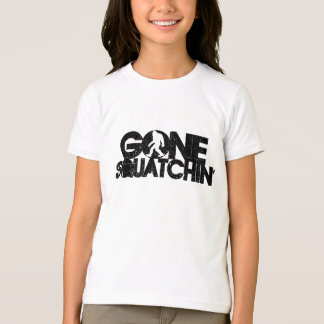 Gone Squatchin - Black / White Silhouette T-Shirt