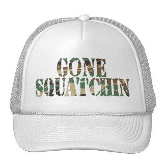 Gone Squatchin Camo Font Hat