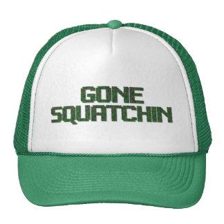 Gone Squatchin - Camo Version Trucker Hat